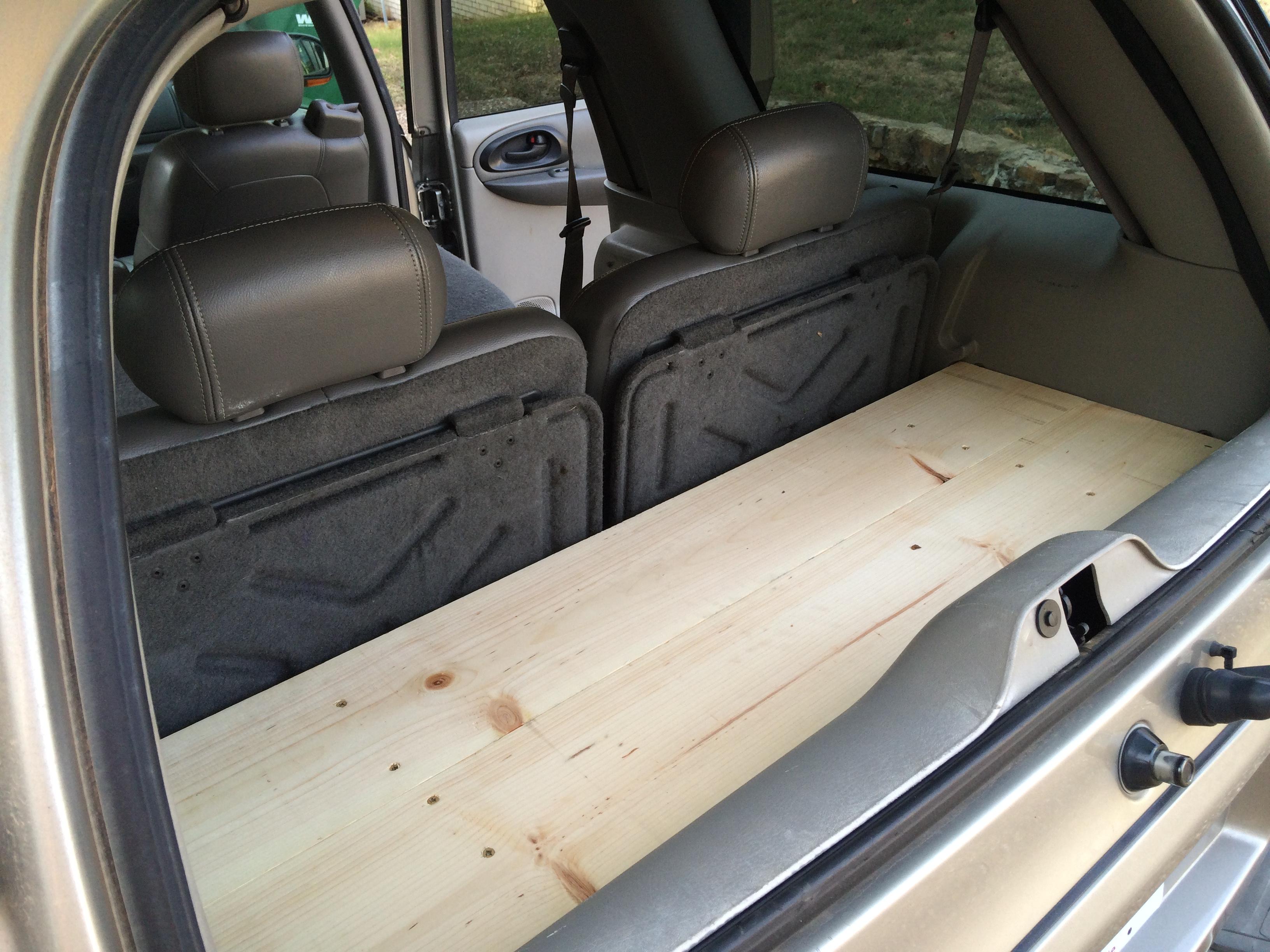 2015 Chevy Trailblazer >> 14 Diy Cargo Shelf For Chevy Trailblazer Rob Mcbryde
