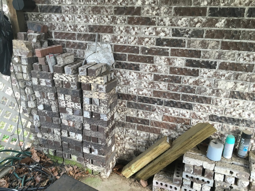 Fire pit options - bricks that match our house